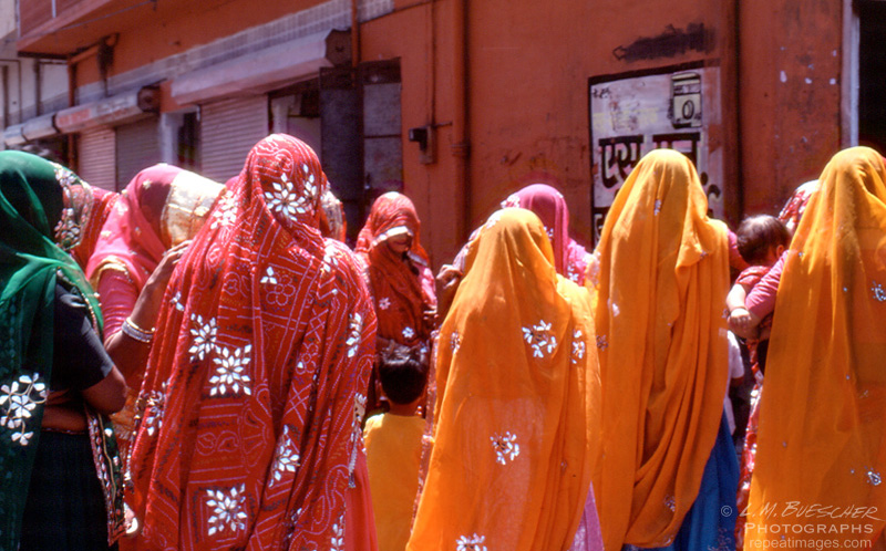 colors of rajastan